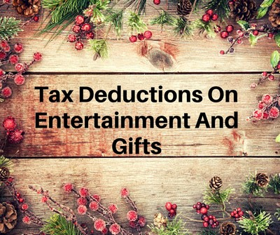 Tax deductions on entertainment and gifts